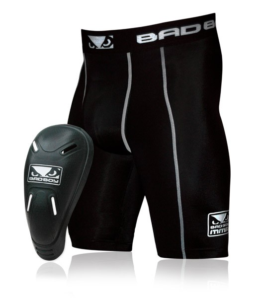 Компрессионные шорты Bad Boy Defender 2.0 Compression Shorts and Cup